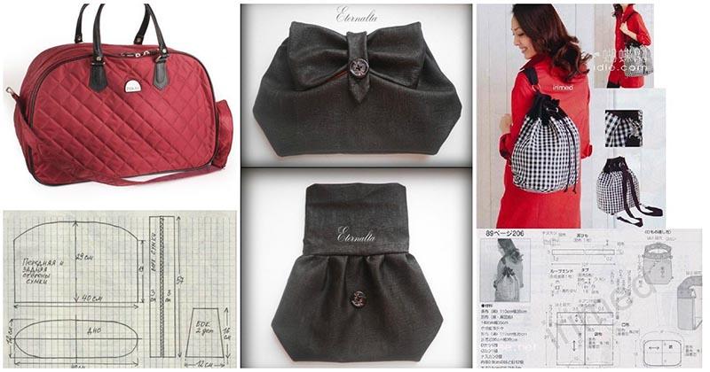 В копилку рукодельницам: коллекция сумок и кошельков для пошива