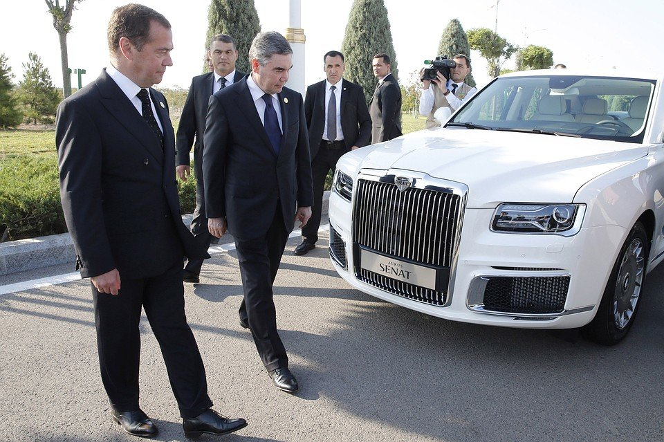 Туркменистан купит всю линейку автомобилей Aurus авто и мото,автоновости,НОВОСТИ,Россия