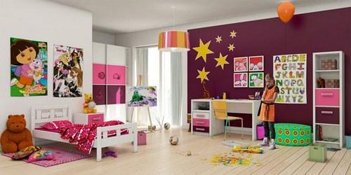 Как украсить детскую комнату…