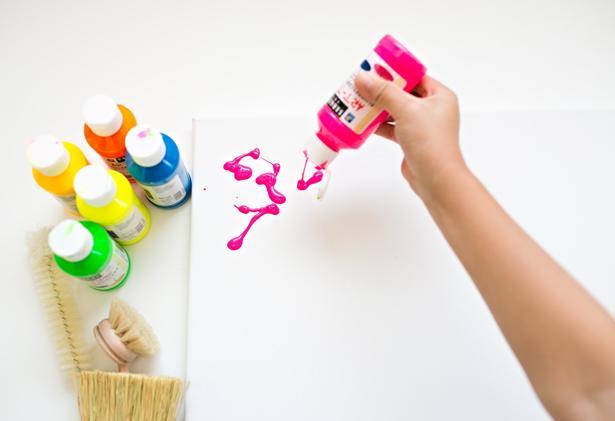 Как с ребенком нарисовать абстрактную картину за 5 минут мастер-класс,творим с детьми