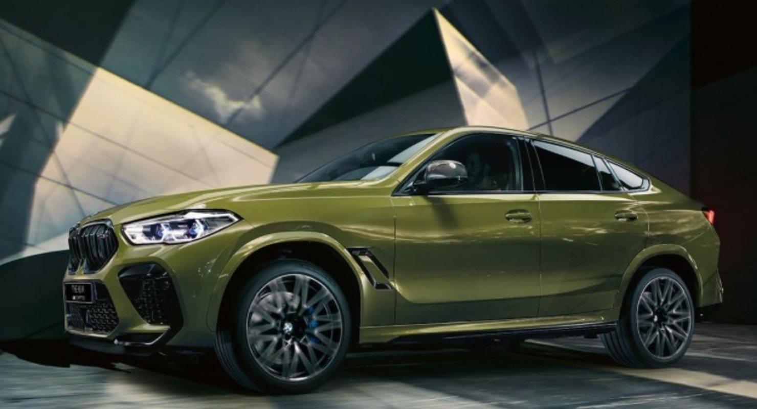 Представлена более мощная версия BMW X6 M Тюнинг