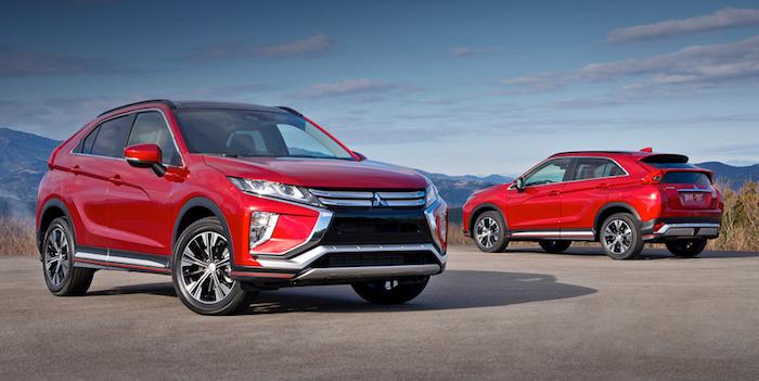 Mitsubishi назвала рублевые цены на кроссовер Eclipse Cross
