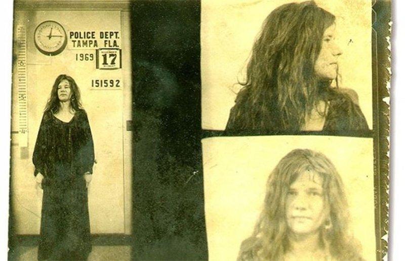 Дженис Джоплин. 1969 год. Хулиганство. арест, звезды, полиция, правонарушение