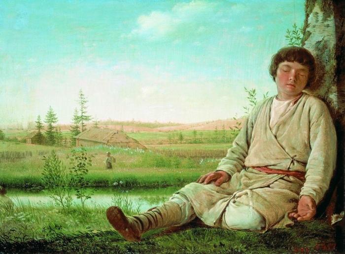 Как жилось пастухам на Руси