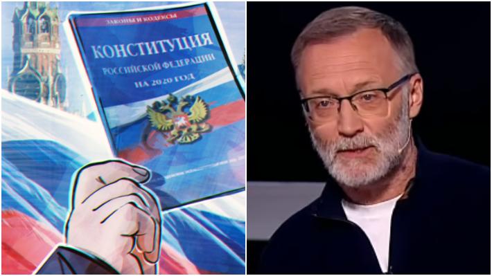 """Михеев: у """"оппозиции"""" было несколько месяцев на дискуссию по поправкам, но она молчала / Коллаж: ФБА """"Экономика сегодня"""""""