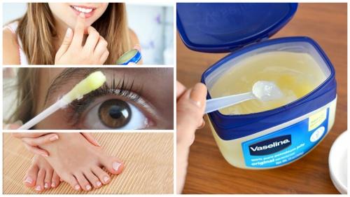 Используем вазелин для красоты и здоровья