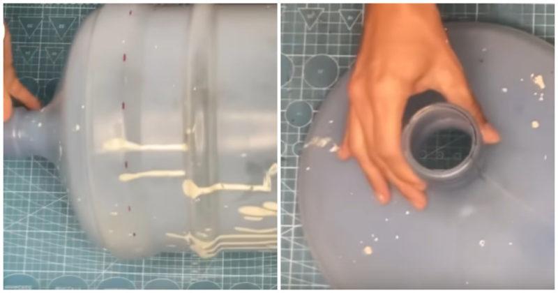 Как креативно использовать бутылки из под кулера интерьер,переделки,рукоделие,своими руками,сделай сам