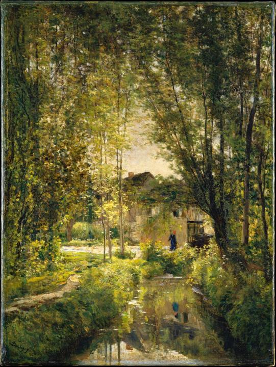 За шаг до импрессионизма... Французский художник Charles-François Daubigny (1817-1878)