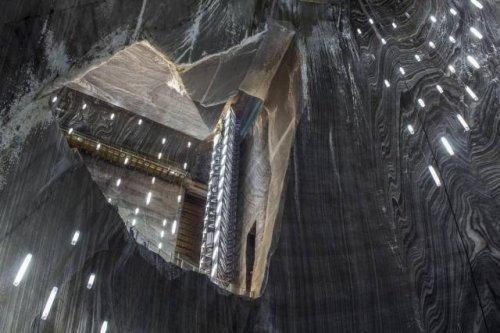Эти восхитительные своды находятся не внутри какого-то сказочного замка, а в обычной шахте по добыче соли. интересное, интересные снимки, снимки