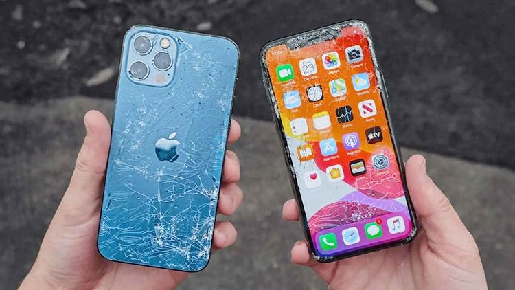 Видео: керамическое стекло iPhone 12 успешно прошло ряд испытаний на прочность новости,смартфон,статья,технологии