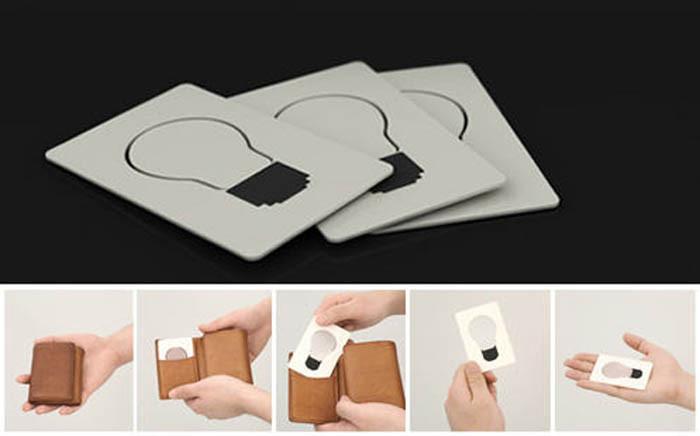 Лампочка в кармане гаджет, изобретение, полезное