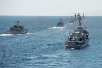 В Севастополе корабли ЧФ приступили к тренировкам для парада на День ВМФ