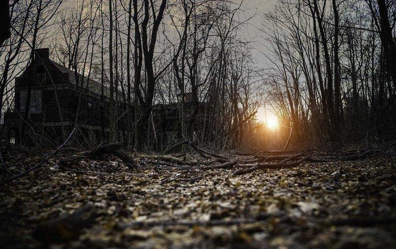 Фотограф раскрывает темную сторону Нью-Йорка Пол Брейк, город, город которого нет, заброшенные места, нью-йорк, тайны города, фото, фотограф