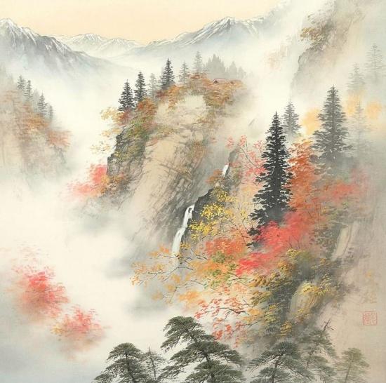 художник Коукеи Кодзима (Koukei Kojima) картины – 08