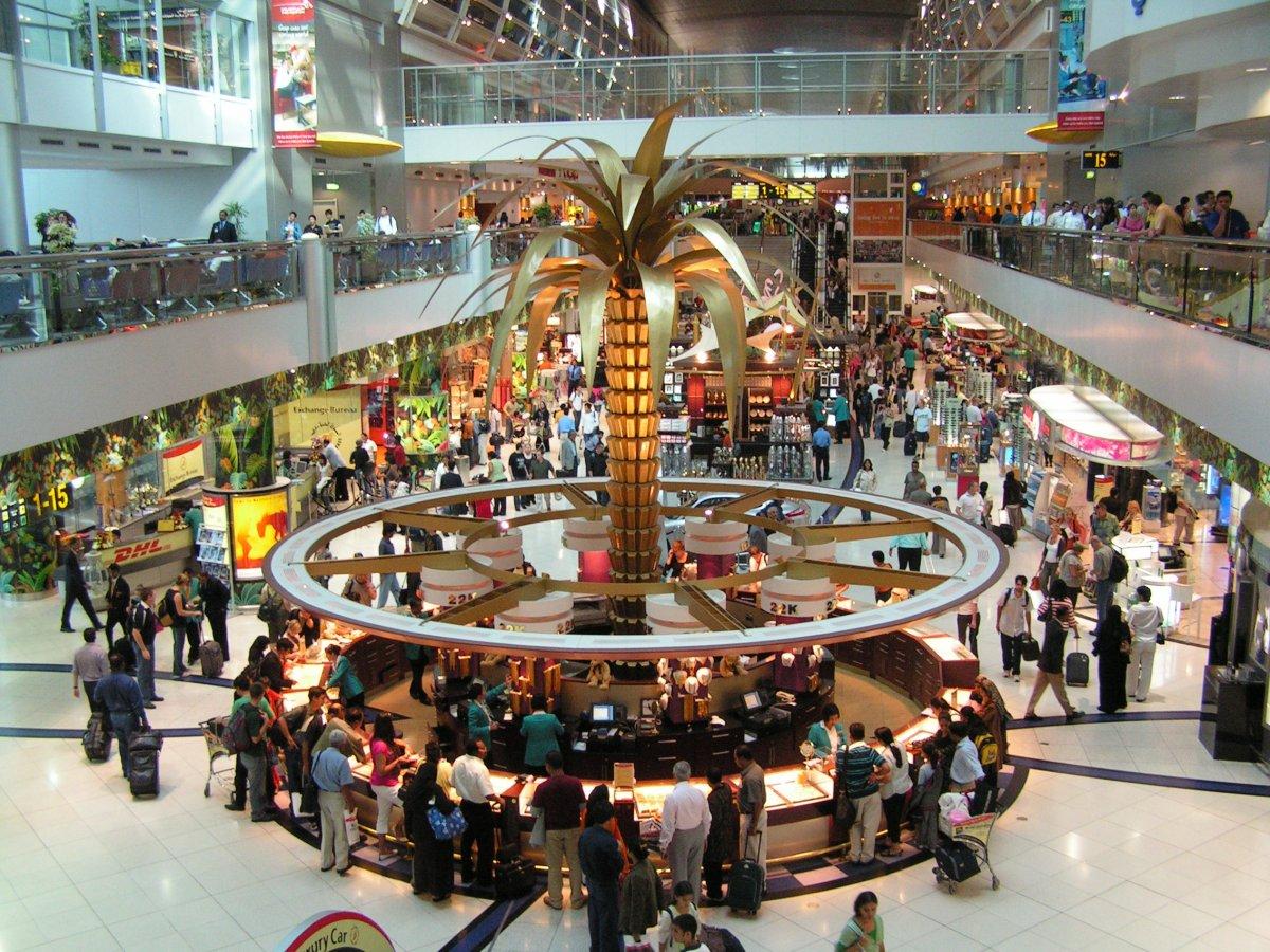 14. Международный аэропорт Дубая. Пассажирооборот – 78 010 265 пассажиров.