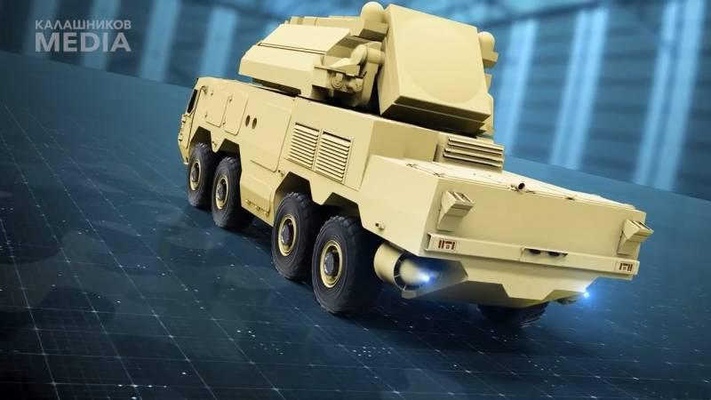 Перспективное специальное шасси СККШ-586 оружие