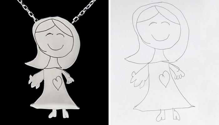 Необычная мода: аксессуары за 400 долларов, выполненные на основе детских рисунков