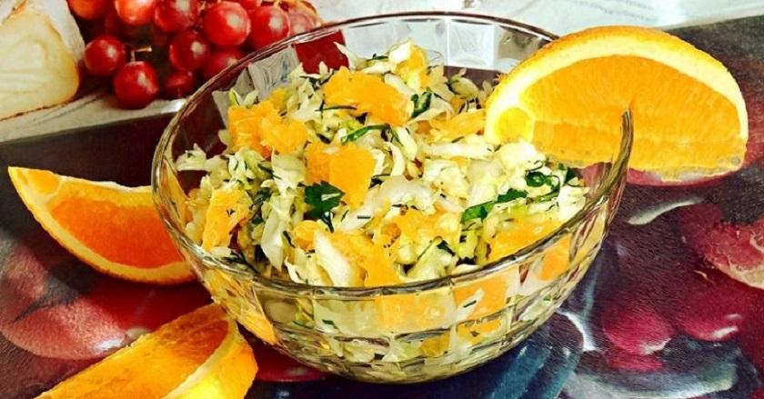 Простые салаты без майонеза: оригинальные блюда для Нового года