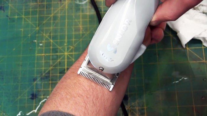 Как заточить ножи машинки для стрижки волос