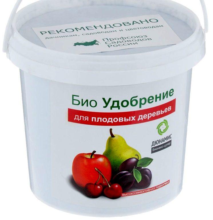 БИО-удобрение Дюнамис для яблони