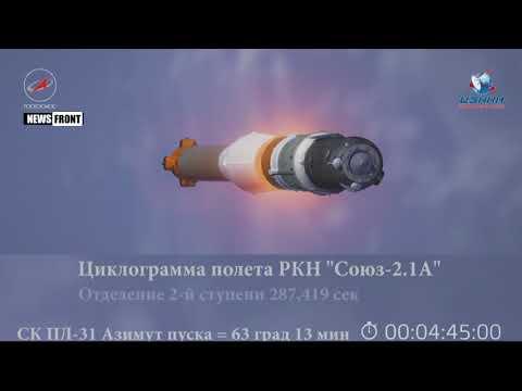 Ракета «Союз-2» стартовала с Байконура