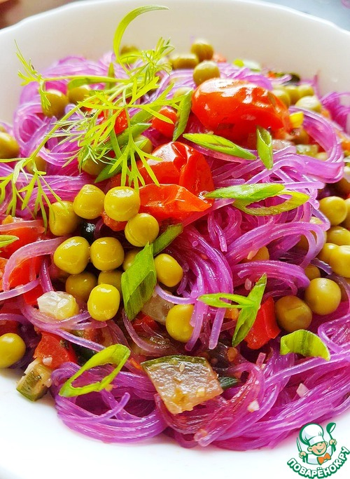 Изысканная фиолетовая фрунчоза - ужин за 10 минут!