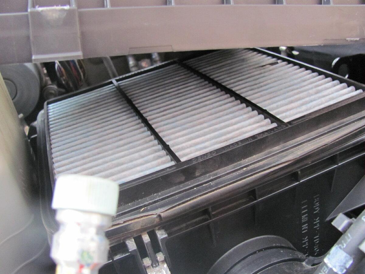 Что будет, если эксплуатировать машину с грязным воздушным фильтром