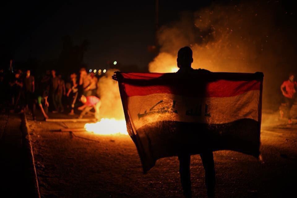 Беспорядки в Басре