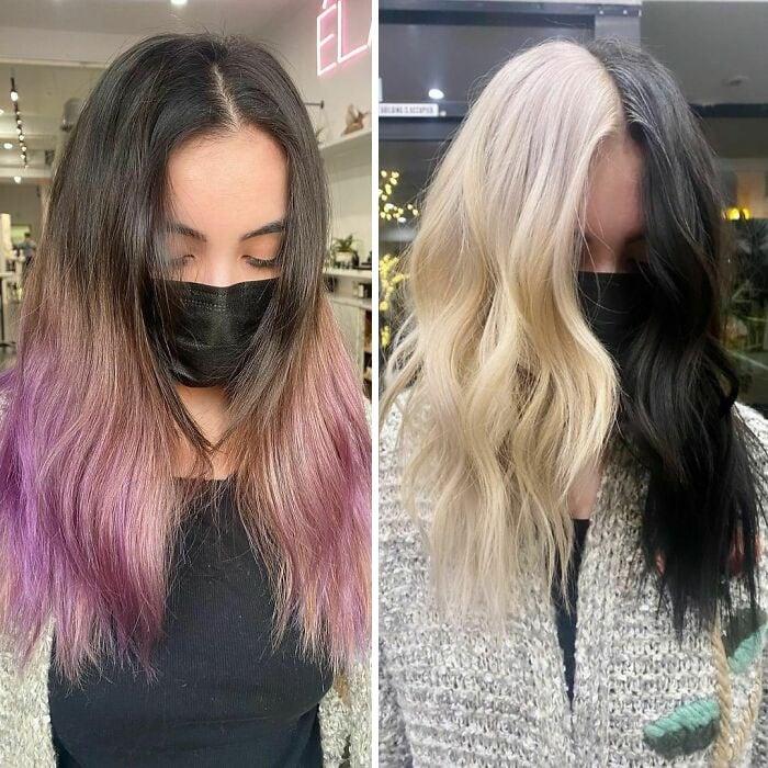 28 женщин, которые выбрали необычный цвет волос внешность,иконы стиля,красота,мода,мода и красота,модные образы,модные тенденции,прически,стиль,стиль жизни,стрижки