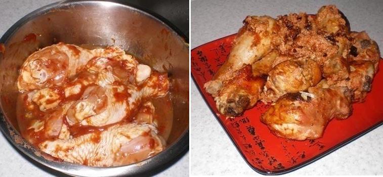 Сочная и пикантная курица Римский легион с легкой остринкой
