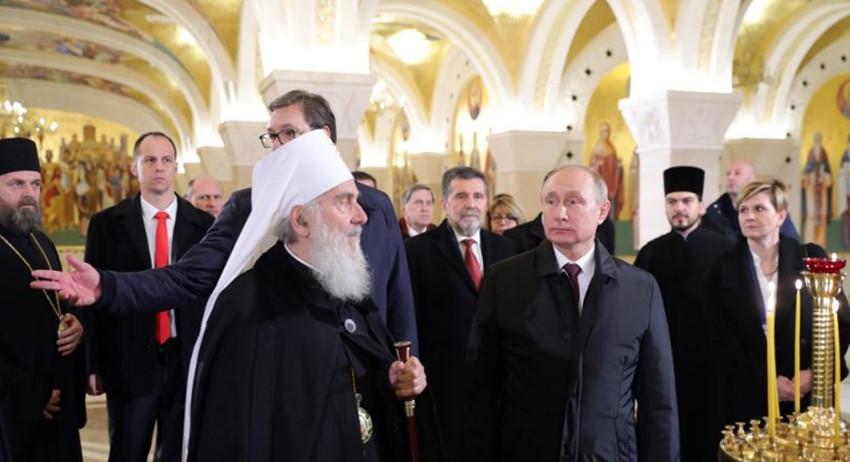 Путин и Вучич завершили моза…