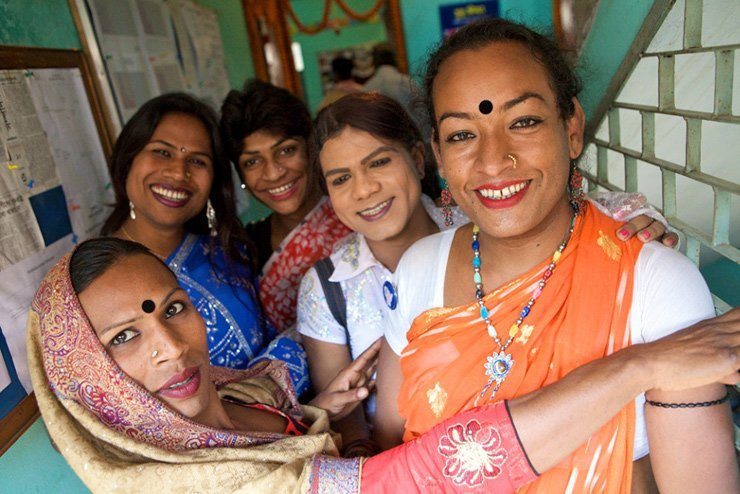 Южная Азия: хиджры gender, в мире, интересно, люди, познавательно, третий пол, факты