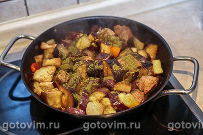 Мясо с баклажанами по-грузински, Шаг 06