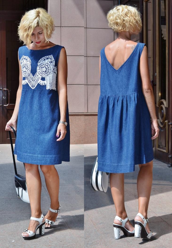 Мешок и немного Готье — переделываем платье