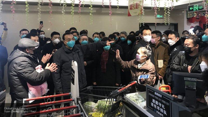 Число заразившихся коронавирусом в Китае увеличилось до 6 тысяч человек