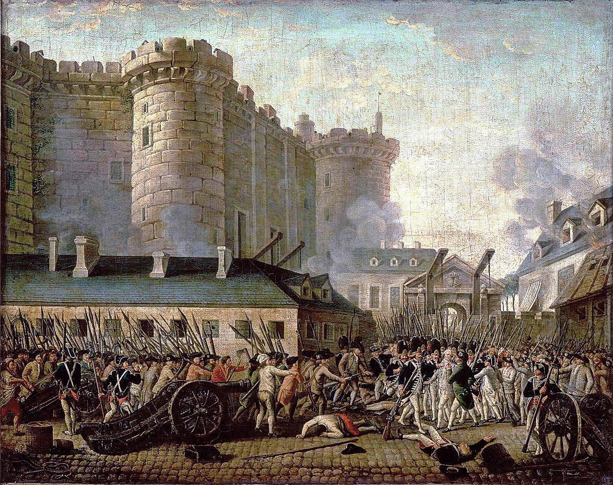 230 лет назад... Взяли Бастилию интересное,история,факты