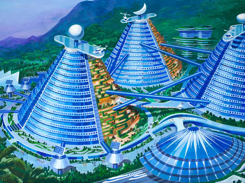 Архитекторы Северной Кореи показали будущее