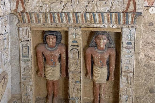 Гробница которой 4000 лет: в Египте нашли склеп древнего жреца археология