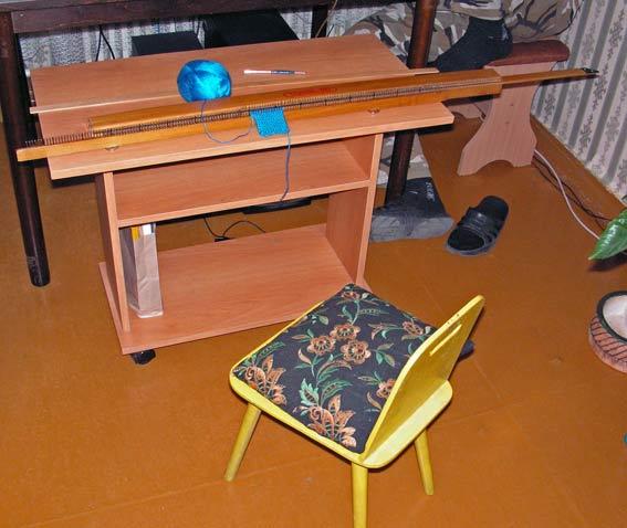 вязальная машина буковинка машинное вязание