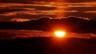 Закат уходящей звезды
