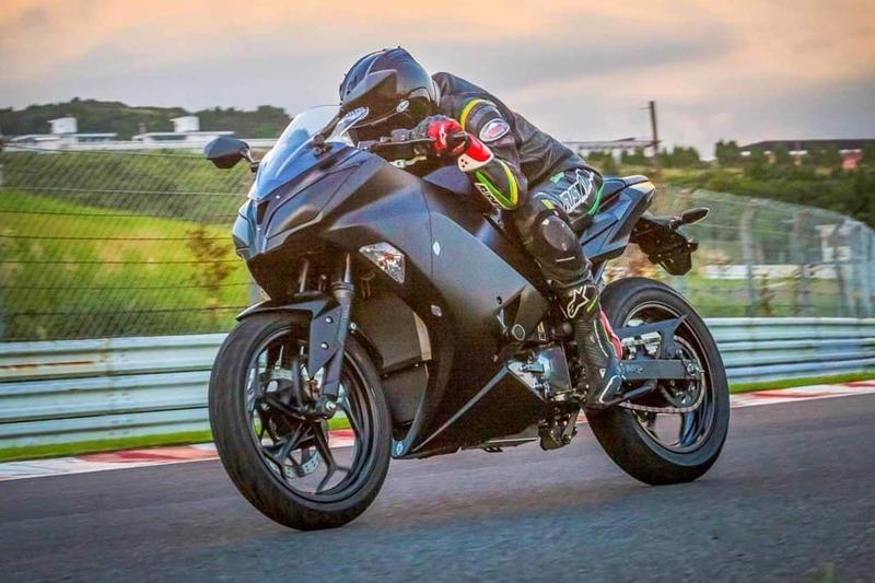 Электрический мотоцикл Kawasaki: EV Endeavour авто и мото,автоновости,автосалон