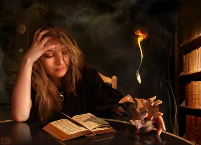 Как стать ведьмой