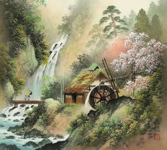 художник Коукеи Кодзима (Koukei Kojima) картины – 04