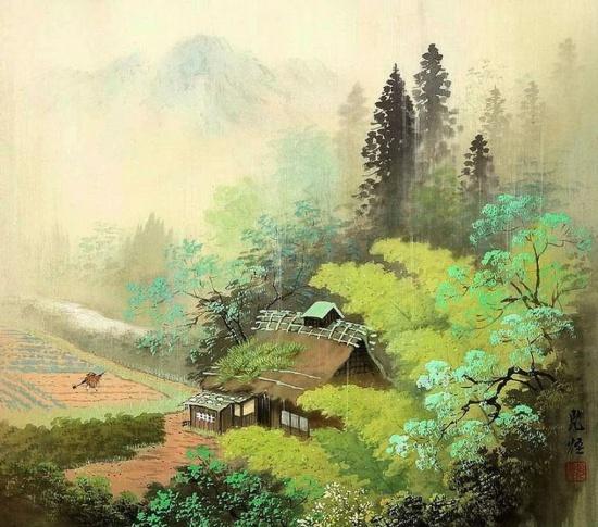художник Коукеи Кодзима (Koukei Kojima) картины – 14
