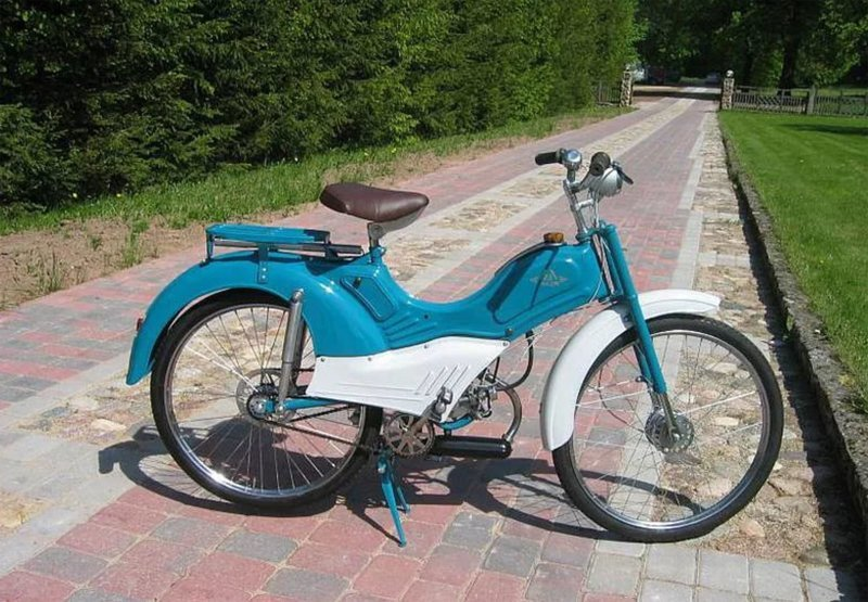 Мотовелосипед МB-042 «Львовянка»  мопеды, техника, транспорт