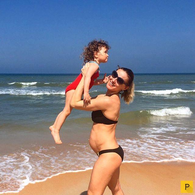 Поздние сроки беременности - не повод, чтобы бросать занятия спортом (20 фото)