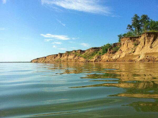 Это озеро в Сибири в 7 раз с…