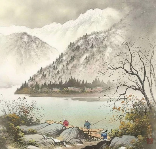художник Коукеи Кодзима (Koukei Kojima) картины – 11