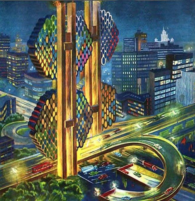 Лифт в космос и городплотина Каким видели будущее в СССР Изображение 3