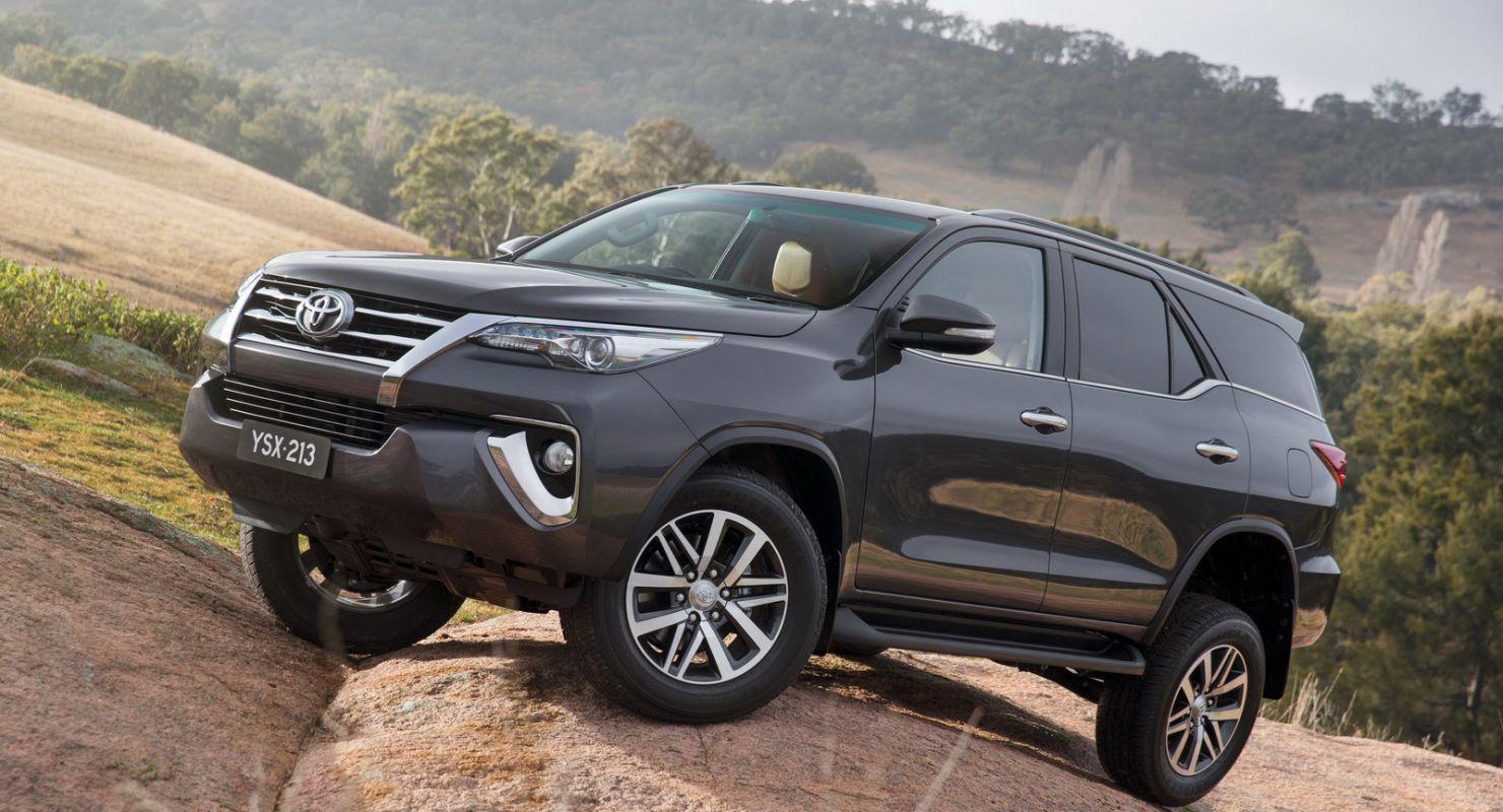 Преимущества внедорожника Toyota Fortuner Автомобили